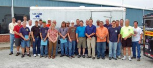 Producers and Ag Businesses participate in Emergency Livestock Response Training